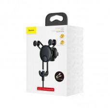 Автомобильный держатель Baseus YY vehicle-mounted phone charging holder with USB cable (Type-C Version) (SUTYY-01) - Black