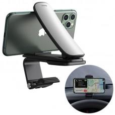 Автомобильный держатель Baseus Big Mouth Pro Car Mount (Applicable to centre console) - Silver (SUDZ-A0S)