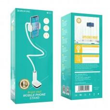 Настольный держатель Borofone BH23 Bright shell mobile phone stand - White