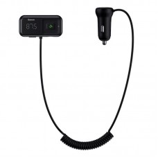 Автомобильные Трансмиттер Baseus T typed S-16 wireless MP3 car charger (English) (CCTM-E01) - Black