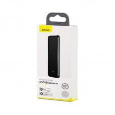 Baseus Full Speed Series SSD Enclosure (Micro USB) (CAYPH-D0G) - Space Gray