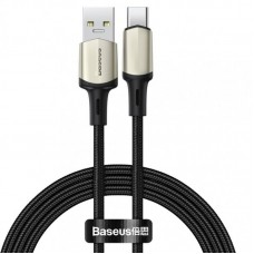 Кабель Baseus Cafule cable (suppport VOOC) USB for Type-C 1m (CATKLF-VA01) - Black