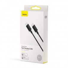 Кабель Baseus Xiaobai series fast charging Cable Type-C 100W ( 20V/5A) 1.5m (CATSW-D01) - Black