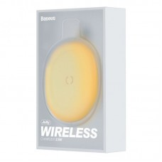 Беспроводная зарядка Baseus Jelly wireless charger 15W (WXGD-0Y) - Yellow