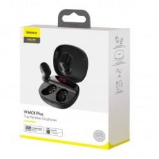Беспроводные наушники Baseus Encok True Wireless Earphones WM01 Plus (NGWM01P-01) - Black