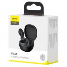 Беспроводные наушники Baseus Encok True Wireless Earphones WM01 (NGWM01-01) - Black