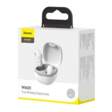 Беспроводные наушники Baseus Encok True Wireless Earphones WM01 (NGWM01-02) - White