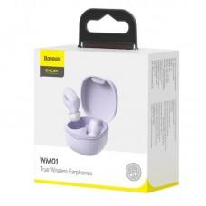 Беспроводные наушники Baseus Encok True Wireless Earphones WM01 (NGWM01-05) - Purple