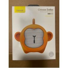 Колонка Baseus Q Chinese Zodiac Wireless Speaker-Monkey E06 (NGE06-B0Y) - Gold