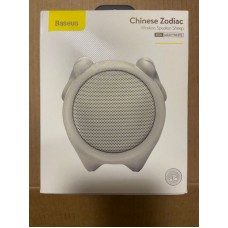 Колонка Baseus Q Chinese Zodiac Wireless Speaker-Sheep E06 (NGE06-B02) - Milky White