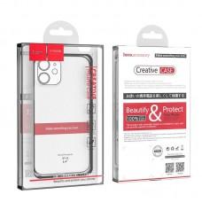 Чехол hoco Light series TPU case for iPhone 12 mini 5.4 - Transparent