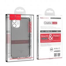 Чехол hoco Light series TPU case для iPhone 12 mini 5.4 - Black