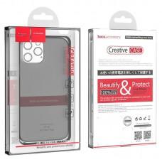 Чехол hoco Light series TPU case для iPhone 12 6.1/6.1 12 Pro - Black