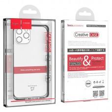 Чехол hoco Light series TPU case for iPhone 12 Pro Max 6.7 - Transparent