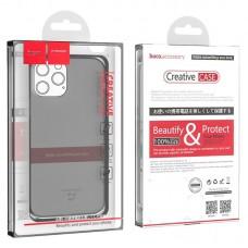 Чехол hoco Light series TPU case for iPhone 12 Pro Max 6.7 - Black