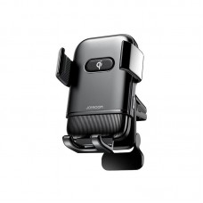 """Держатель для телефона с беспроводной зарядкой Joyroom JR-ZS216 """"Air outlet"""" - Black"""
