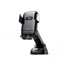 """Держатель для телефона с беспроводной зарядкой Joyroom JR-ZS216 """"Instrument panel"""" - Black"""