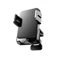 """Держатель для телефона с беспроводной зарядкой Joyroom JR-ZS219 """"Air outlet"""" - Black"""