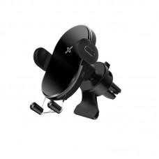 """Держатель для телефона с беспроводной зарядкой Joyroom JR-ZS200 """"Air outlet"""" - Black"""