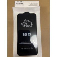 "Защитное стекло 10D ""Black"" для Iphone 12 Mini"