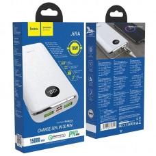 Power Bank hoco J69A Speed flash PD + QC3.0 15000mAh - White