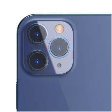Защитное стекло для камеры Baseus 0.25mm Gem Camera Lens Protective Film For iP Pro 6.1/6.7inch 2020 (2pcs Pack) (SGAPIPH61P-JT02) - Transparent