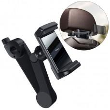 Автодержатель для телефона Baseus Energy Storage Backseat Holder Wireless Charger (WXHZ-01) - Black