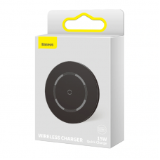 Беспроводная зарядка Baseus Simple Magnetic Wireless Charger (suit for IP12) (WXJK-E01) - Black