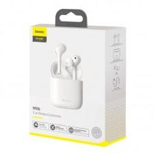Беспроводные наушники Baseus Encok True Wireless Earphones W06 (NGW06-02) - White