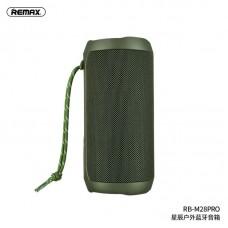 Колонка REMAX Star Series outdoor wireless speaker RB-M28 pro - Green