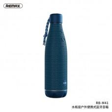 Колонка REMAX Aquarius outdoor portable wireless speaker RB-M41 - Blue