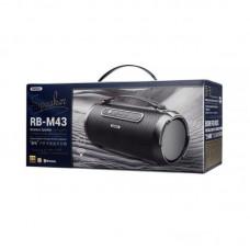 Колонка REMAX Gwens Outdoor Portable Wireless Speaker RB-M43 - Black
