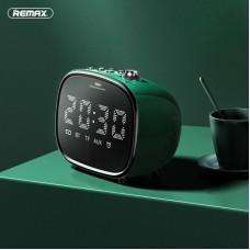 Колонка REMAX Alarm Bluetooth Speaker RB-M52 - Green