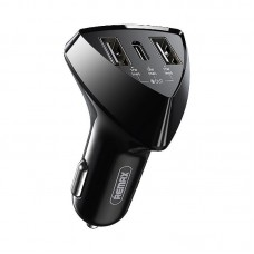Автомобильное ЗУ REMAX Alien pro 18W PD+ QC fast charging car charger RCC214 - Black