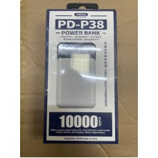 Power Bank PRODA YINEN Series 10000mah PD-P38 - White