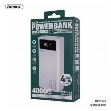 Power Bank Remax Mengine RPP-113 40000mah - White