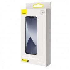 Защитное стекло Baseus 0.15mm Full Coverage Tempered Glass Film (Secondary Hardening) (2pcs Pack) Transparent для Iphone 12/12 Pro (SGAPIPH61P-FM02)