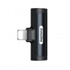 Переходник REMAX SMOTH Series Audio Adapter For LT RL-LA04i - Black