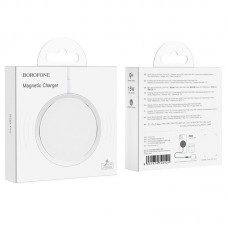 Беспроводная зарядка Borofone BQ9 Pro Original series magnetic - White