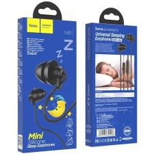 Наушники hoco 3.5мм M81 Imperceptible с микрофоном - Black