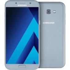 Защитное стекло Full Glue для Samsung A7 2017 - Black