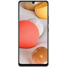 Защитное стекло Full Glue для Samsung A42 - Black