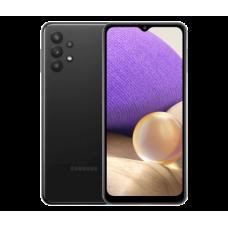 Защитное стекло Full Glue для Samsung A32 - Black