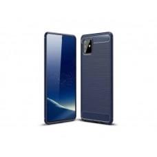 Защитное стекло Full Glue для Samsung A81 - Black