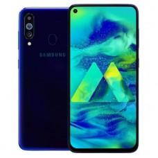 Защитное стекло Full Glue для Samsung M41 - Black