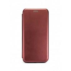 Чехол Книжка для Samsung note 10+ - Бордовый