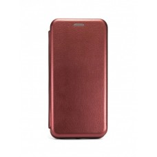 Чехол Книжка для Xiaomi Redmi Note 8 Pro - Бордовый