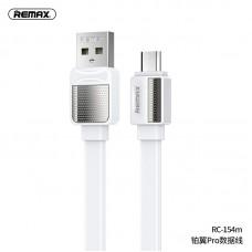 Кабель Remax Micro RC-154m - White