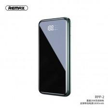 Power Bank Remax Sinyo Series wireless fast charging PD+QC 3.0 10000mah RPP-2 - Green