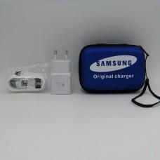 СЗУ Original Samsung  с кабелем в чехле